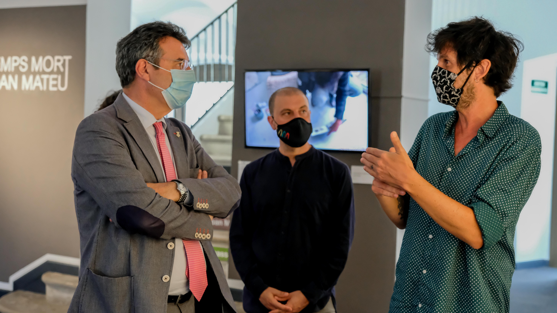 Miquel Noguer Planas visita Les Bernardes