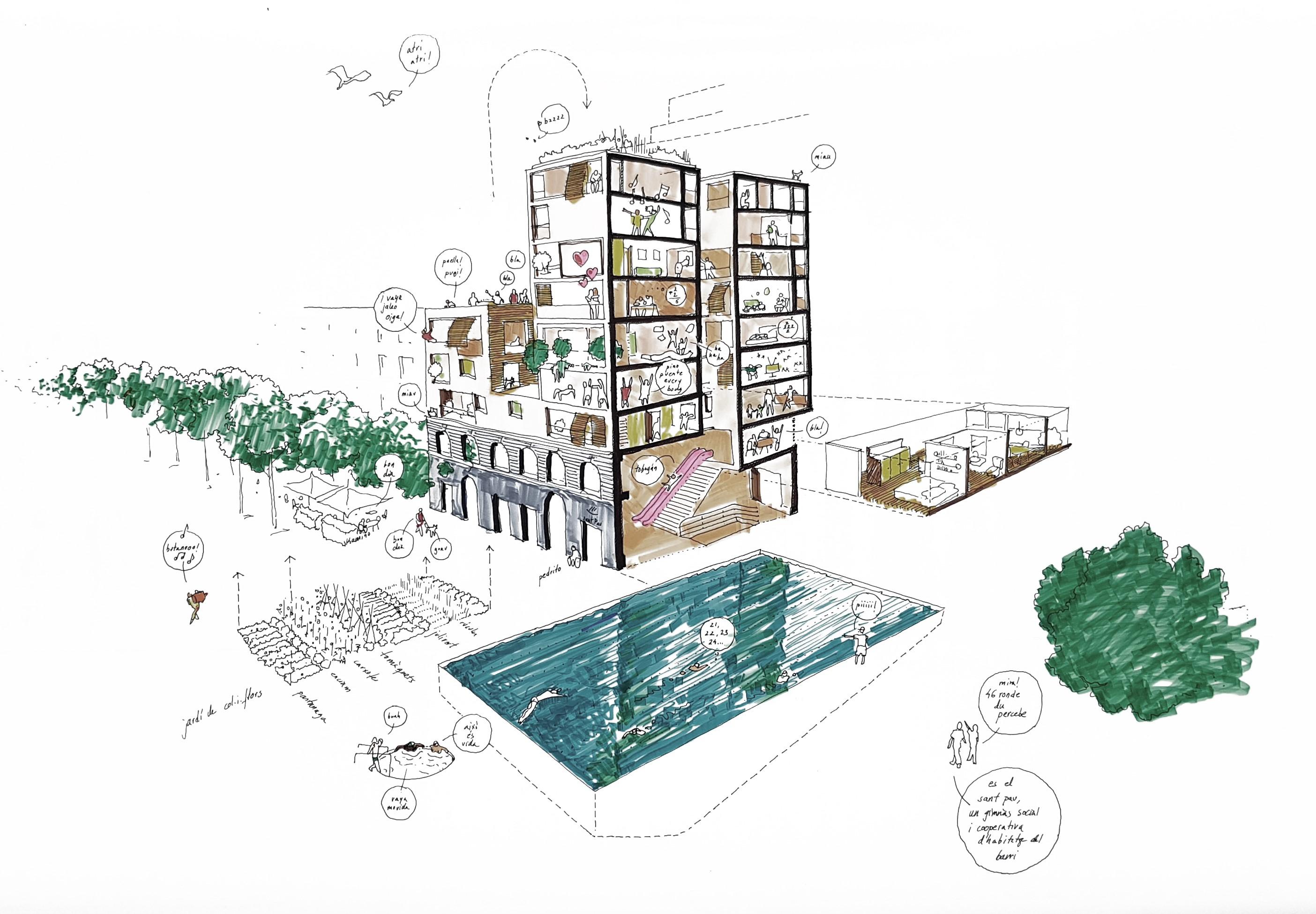 Jornades per repensar l'arquitectura-les bernardes