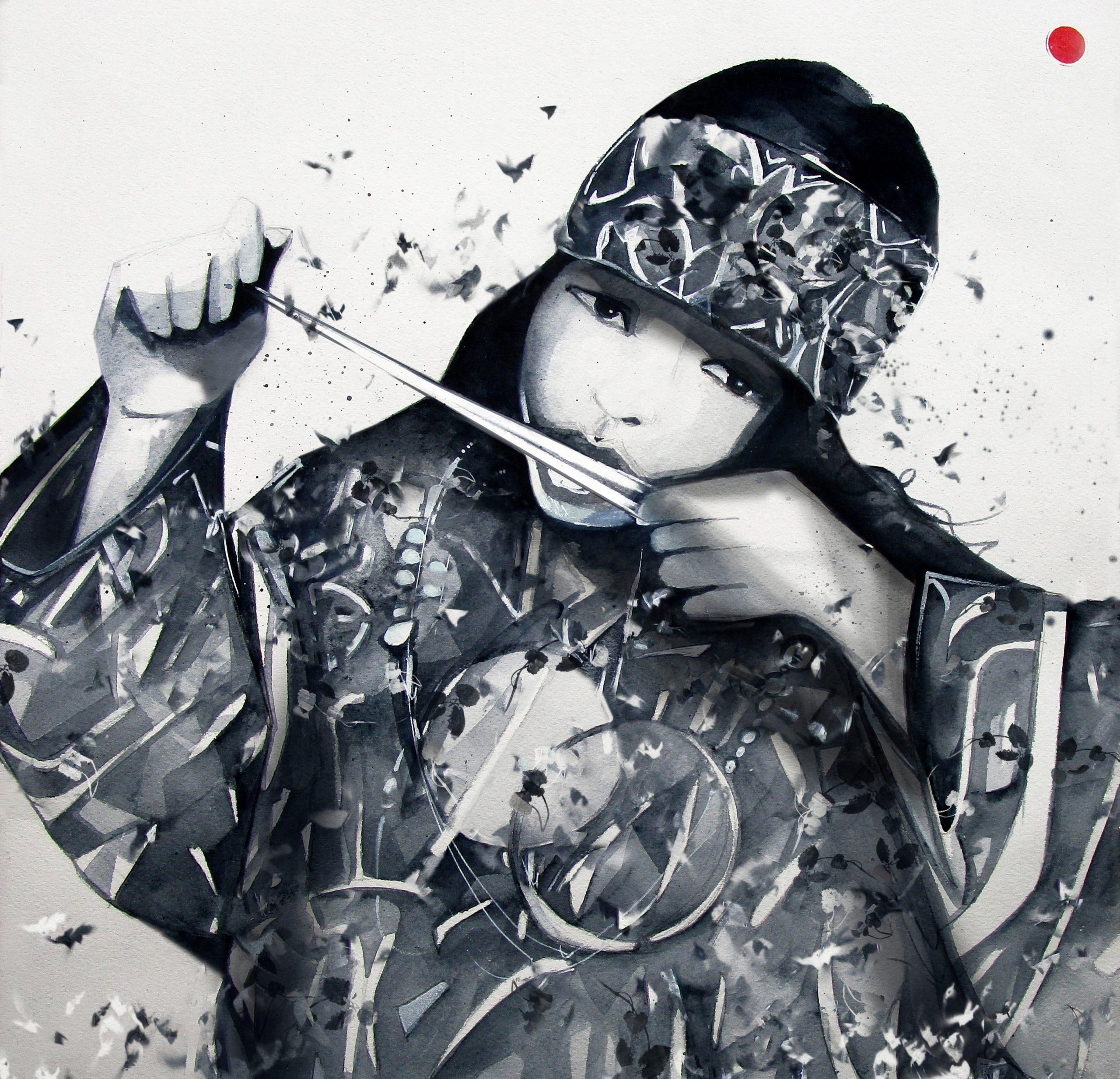 Melodia ancestral. Humana. Ainu. Vibra com el mukkuri. Canta com els ocells. Vola.