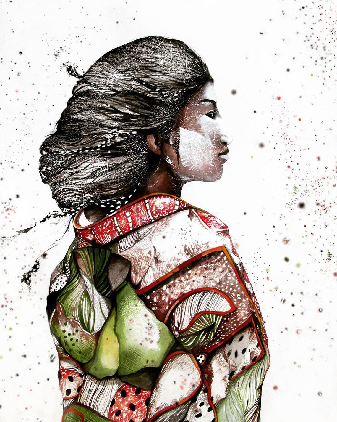 Kimono. Mànigues infinites que abracen buidors de joventut, promeses de futur. Furisode de seda. Brillant. Vistós. Salvatge com un crit de grua.