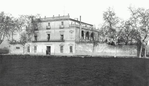 L' Antiga Casa Tarrés a principis del segle XX